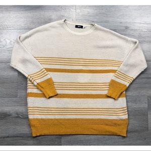 Urban Outfitters BDG sweater striped boyfriend
